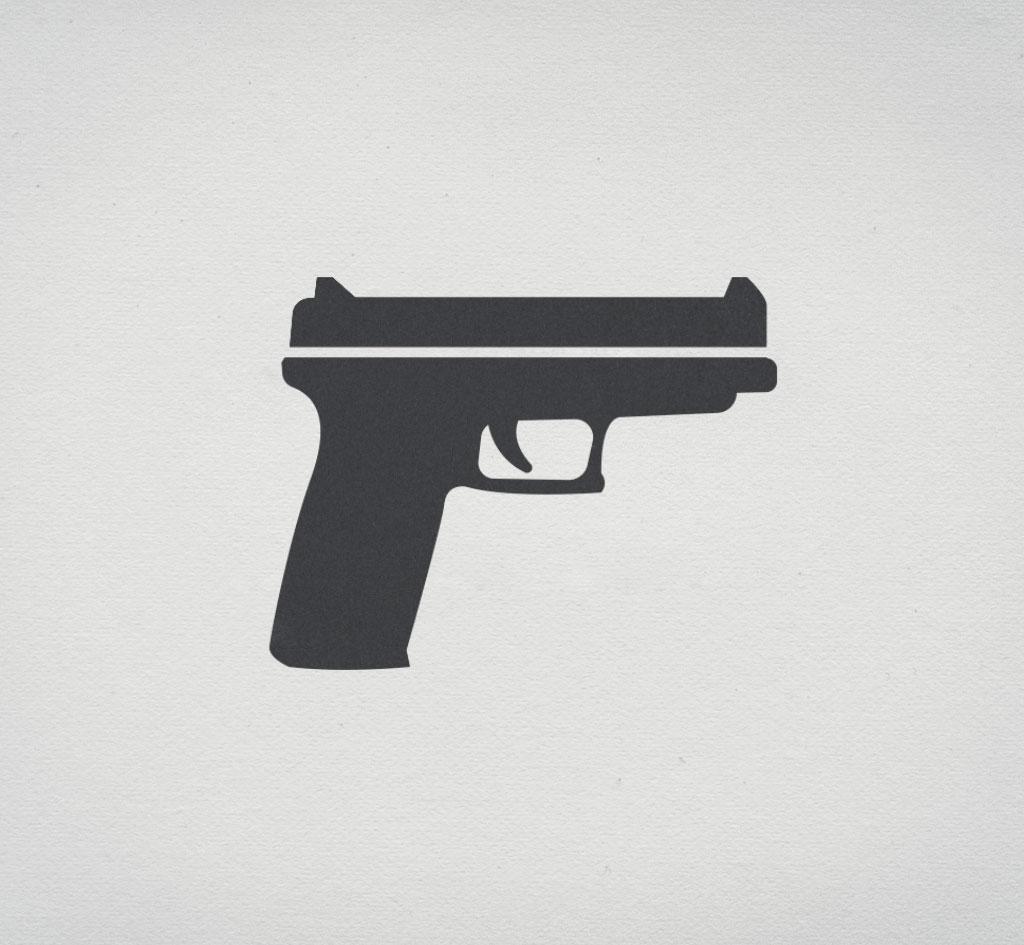 A Girl and a Gun – Title Sequence
